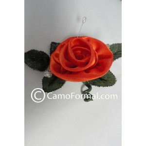 Boutonniere in Orange