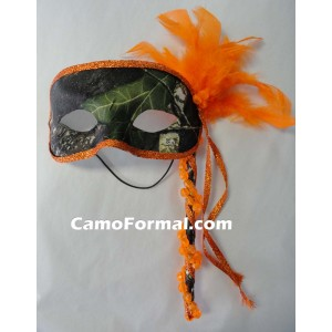 Camo Masquerade Mask
