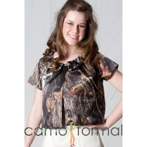 Jacket Only, Short Sleeve, Round Collar, J9202