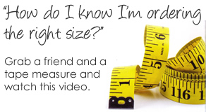CamoFormal how to measure fitting video