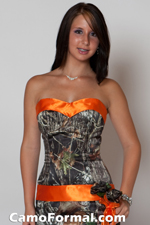 Prom Party Dress on Welcome To Camo Formal Bridal  Wedding  And Prom Dresses And Tux Vests