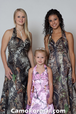 camouflage wedding party