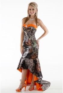 8076 Slim Camo Dress and X-treme Train